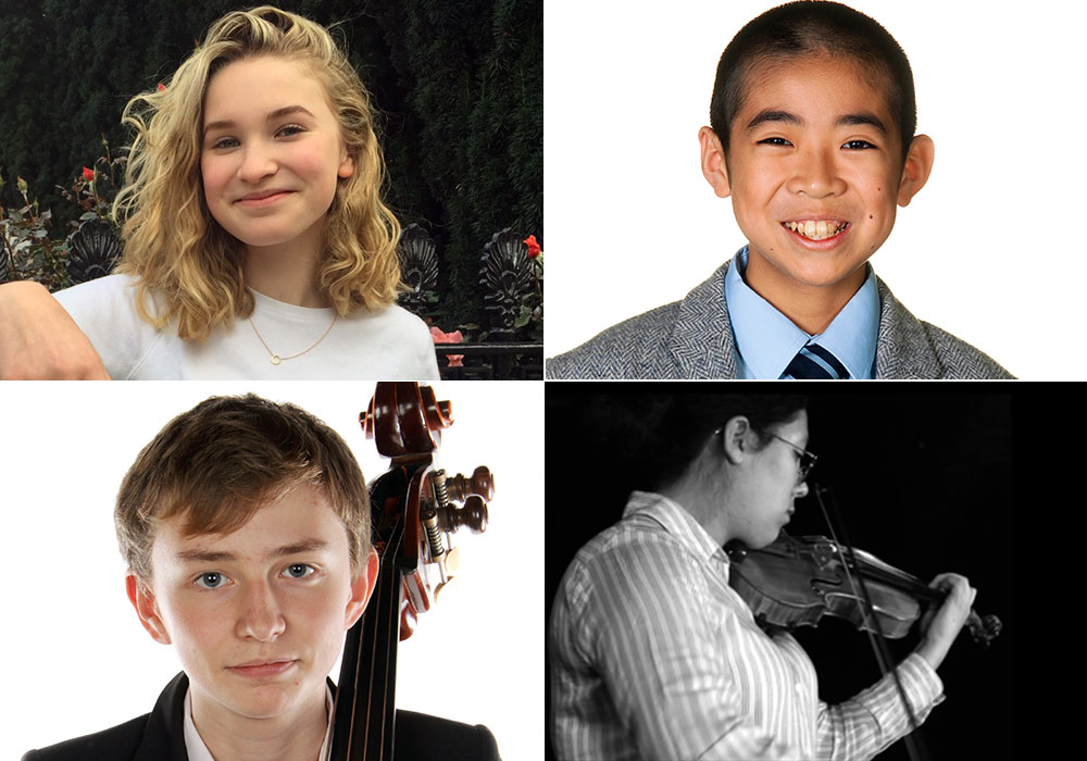 Local Young Performers Recital – Saturday 20 January 2018 at 7:30 pm