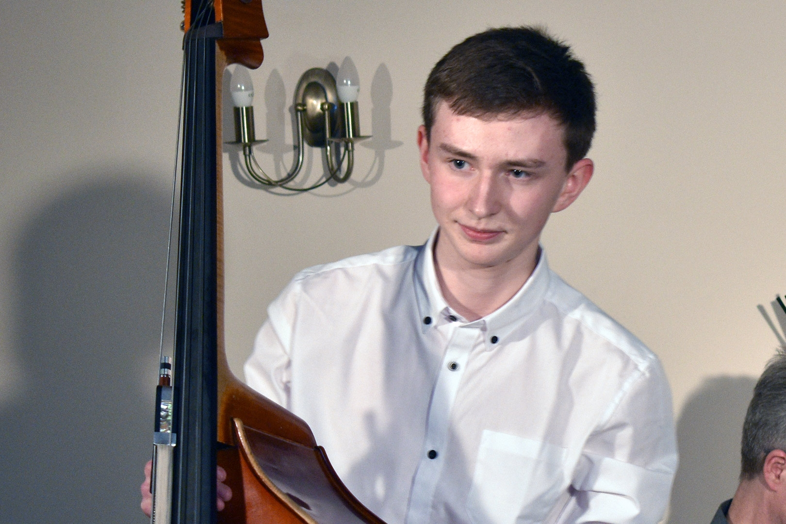 Will Duerden, double bass