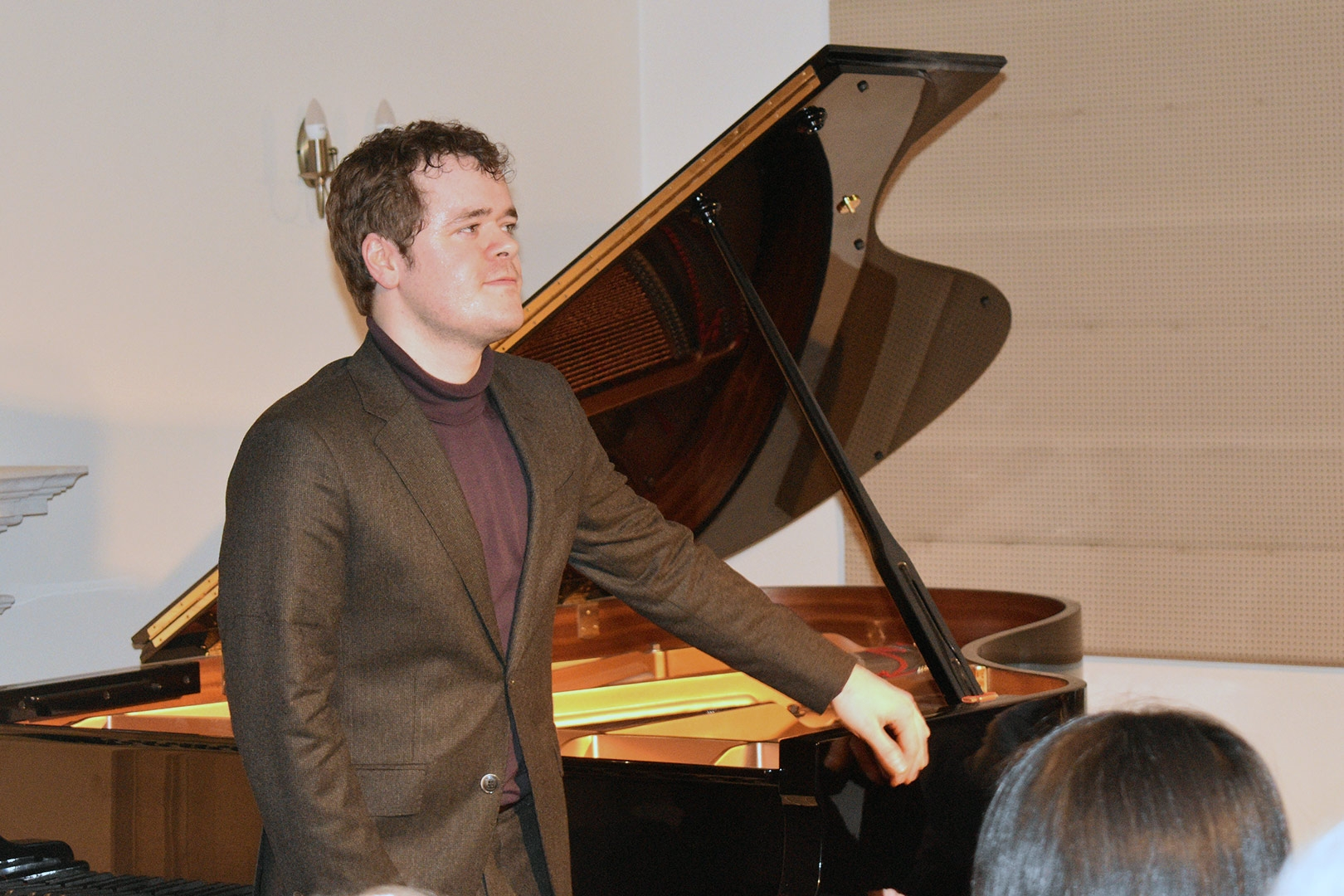 Benjamin Grosvenor at Breinton on Wednesday